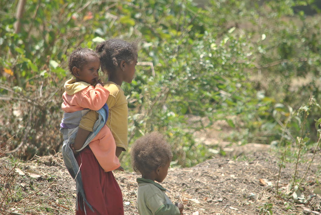 Water filters in Sebeta, Ethiopia provide clean water for children
