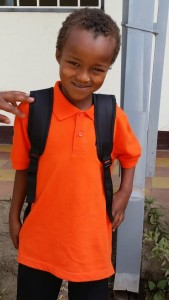Student at Mulat Knowledge School