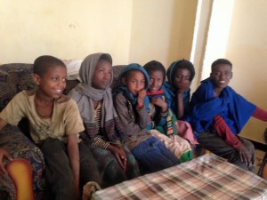Children in Debre Markos