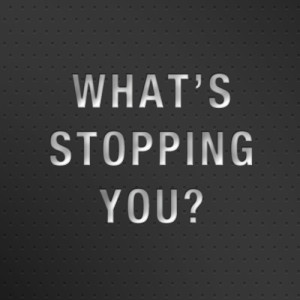 What's stopping you from running?