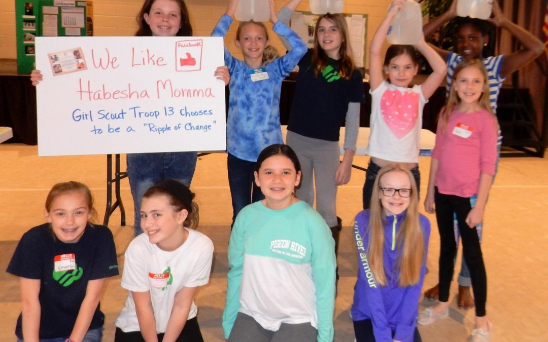 Girl scouts, water filters, and RoC Partners…oh my!