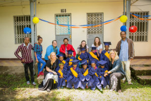 Graduating class at Mulat Knowledge School